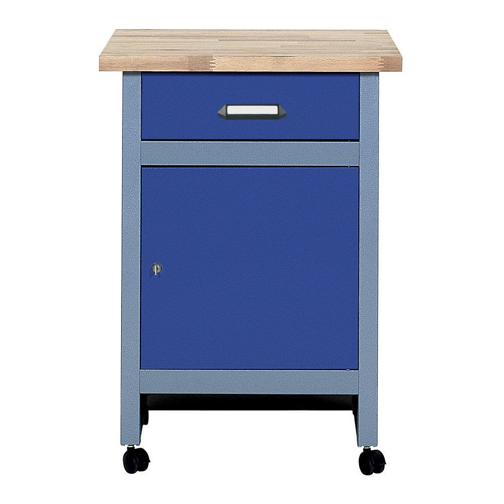 table d 39 tabli de m canicien kupper 60 cm bleu leroy. Black Bedroom Furniture Sets. Home Design Ideas