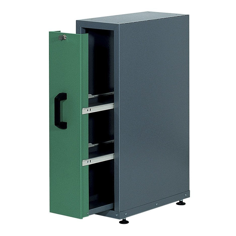 armoire de rangement en m tal vert kupper leroy merlin. Black Bedroom Furniture Sets. Home Design Ideas