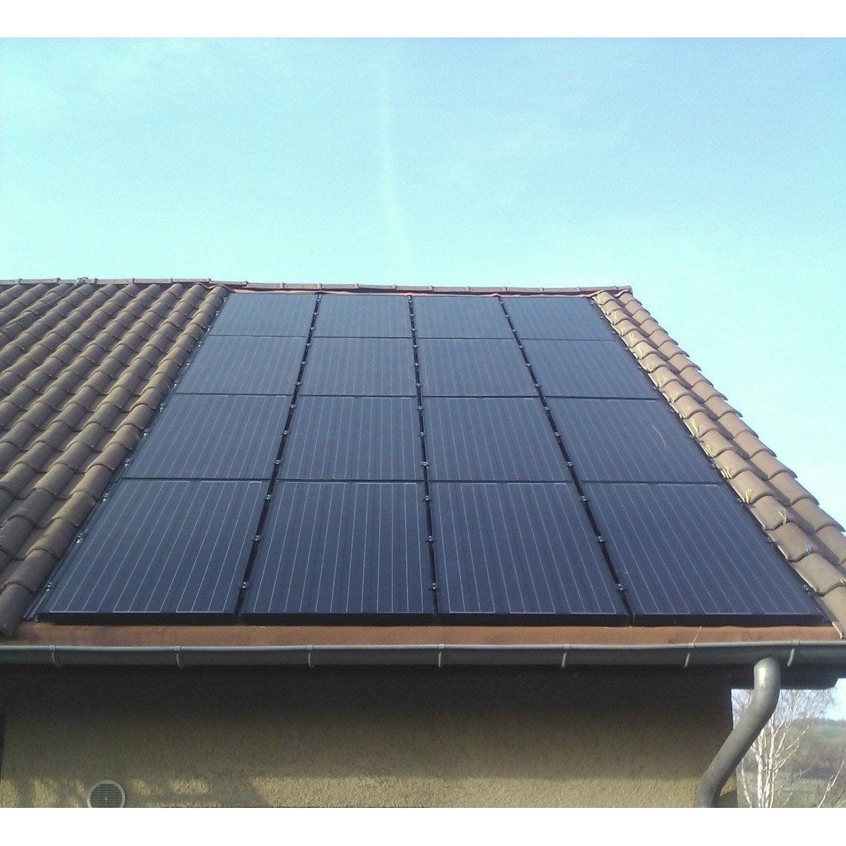 kit solaire photovolta que premium int gr watt home 2450w leroy merlin. Black Bedroom Furniture Sets. Home Design Ideas