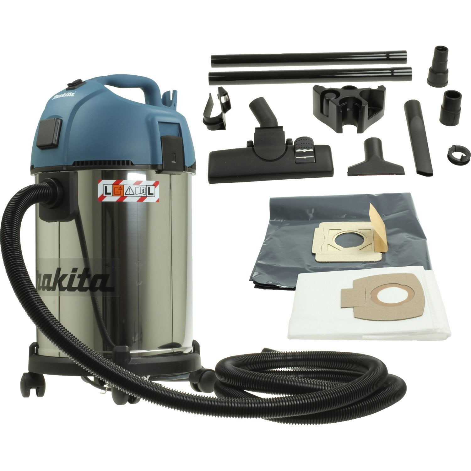 aspirateur eau et poussi res makita 35l 18kpa leroy merlin. Black Bedroom Furniture Sets. Home Design Ideas