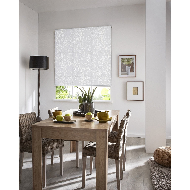 store enrouleur tamisant arbre blanc 60 64 5 x 190 cm. Black Bedroom Furniture Sets. Home Design Ideas