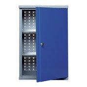 Armoire de rangement en métal bleu KUPPER 40 cm 1 porte