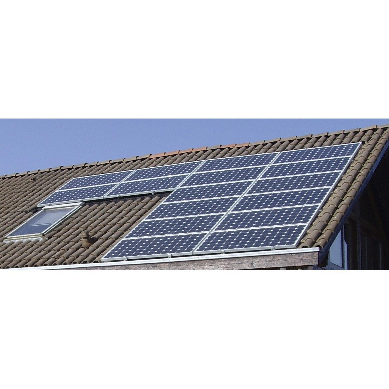 Kit solaire photovolta que surimpos toiture watt home 7105w leroy merlin - Demoussage toiture leroy merlin ...