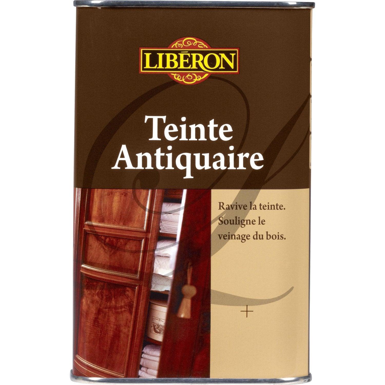 Teinte bois durs liberon 0 5 l ch ne clair leroy merlin - Leroy merlin tablette chene ...