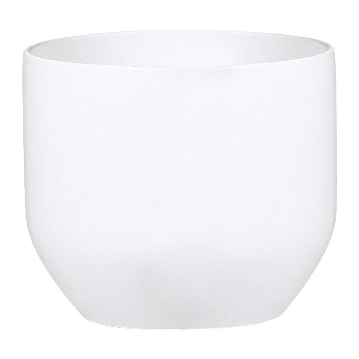 cache pot terre cuite maill e scheurich x cm blanc leroy merlin. Black Bedroom Furniture Sets. Home Design Ideas