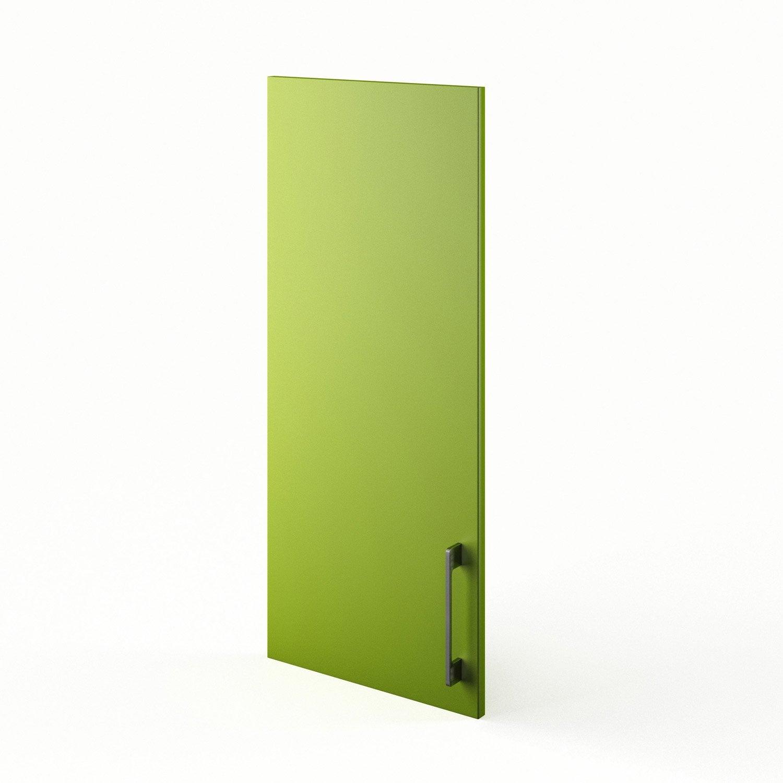 porte de cuisine vert f40 92 topaze x cm. Black Bedroom Furniture Sets. Home Design Ideas