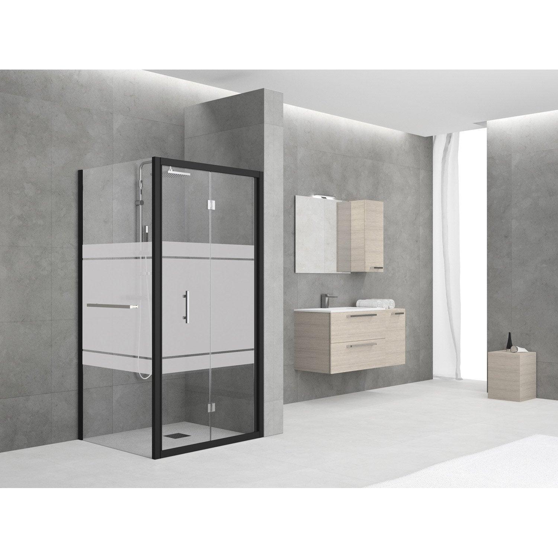 paroi de douche lat rale elyt porte serviette largeur. Black Bedroom Furniture Sets. Home Design Ideas