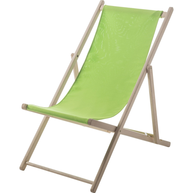 chilienne de jardin en tissu lola vert granny leroy merlin. Black Bedroom Furniture Sets. Home Design Ideas