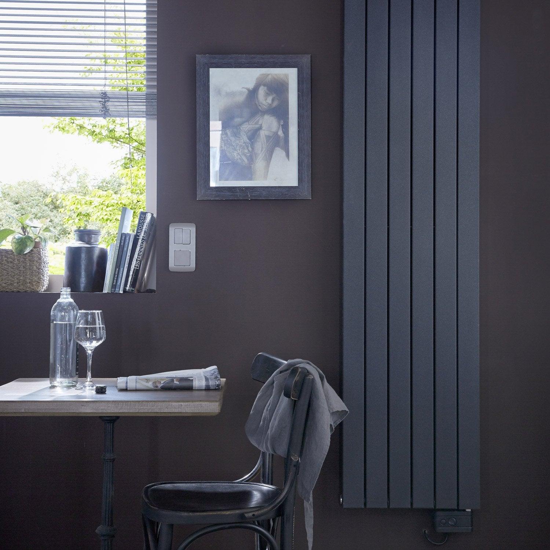 radiateur lectrique deltacalor ramada anthracite 1500 w. Black Bedroom Furniture Sets. Home Design Ideas