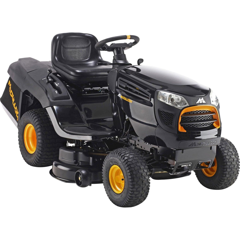 tracteur de pelouse jection arri re mc culloch m14597tc. Black Bedroom Furniture Sets. Home Design Ideas
