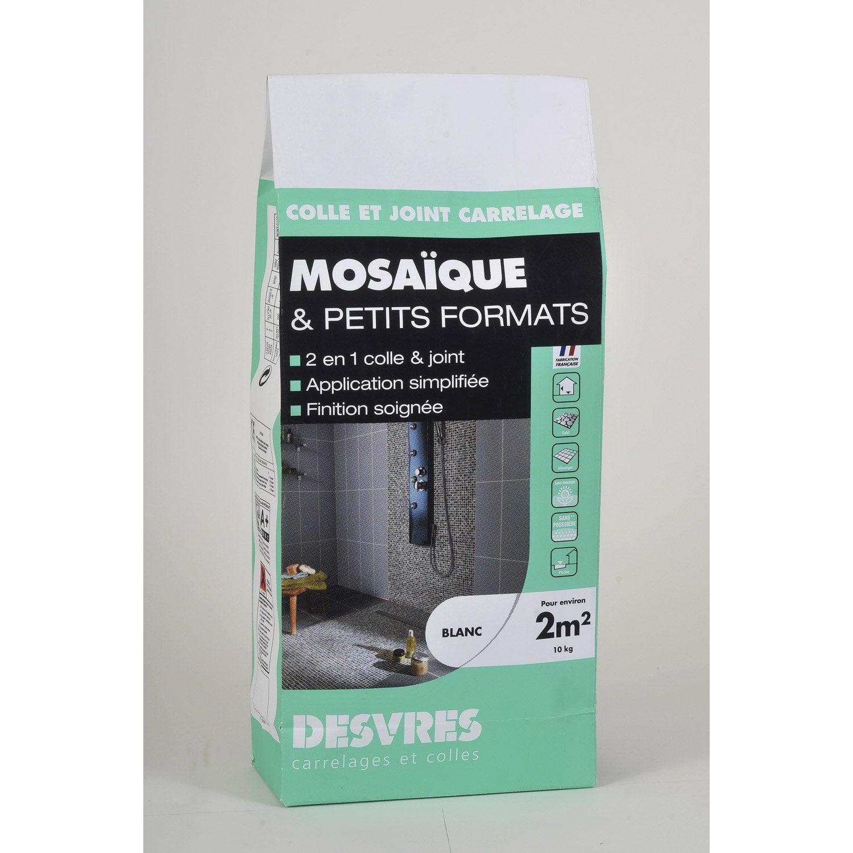 Colle et joint 2 en 1 pour mosa que mur et sol 10 kg - Mosaique sur mur exterieur ...