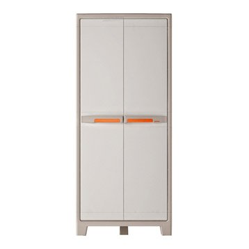 Armoire r sine 5 tablettes spaceo premium l80xh182xp44 - Tablettes murales leroy merlin ...