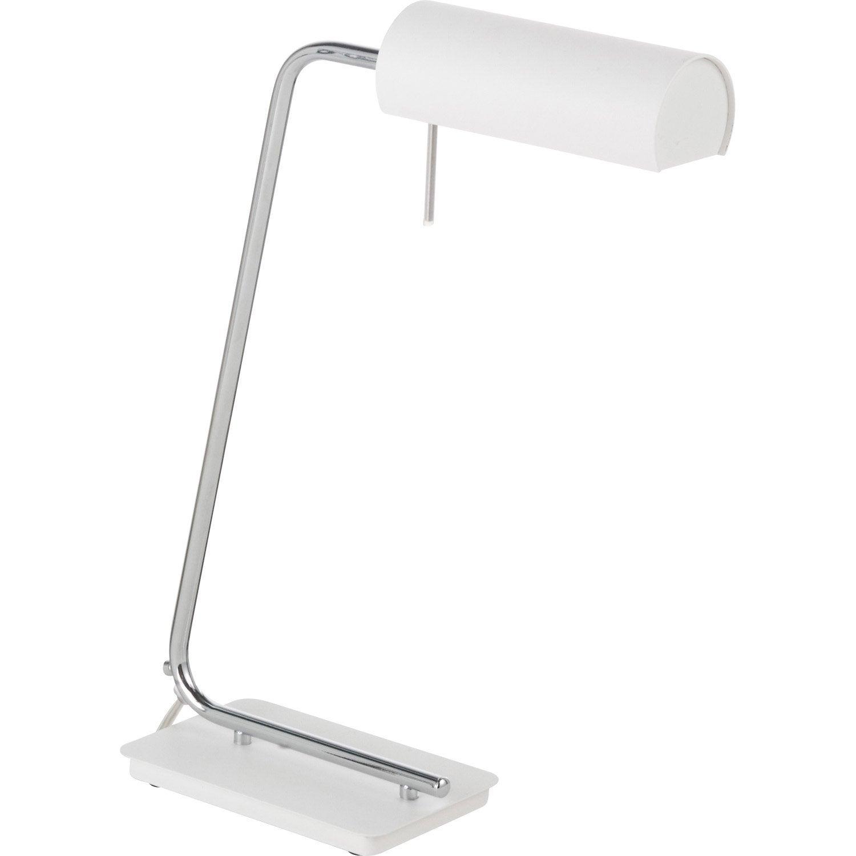 Leroy merlin lampe a poser maison design for Lampe bureau leroy merlin