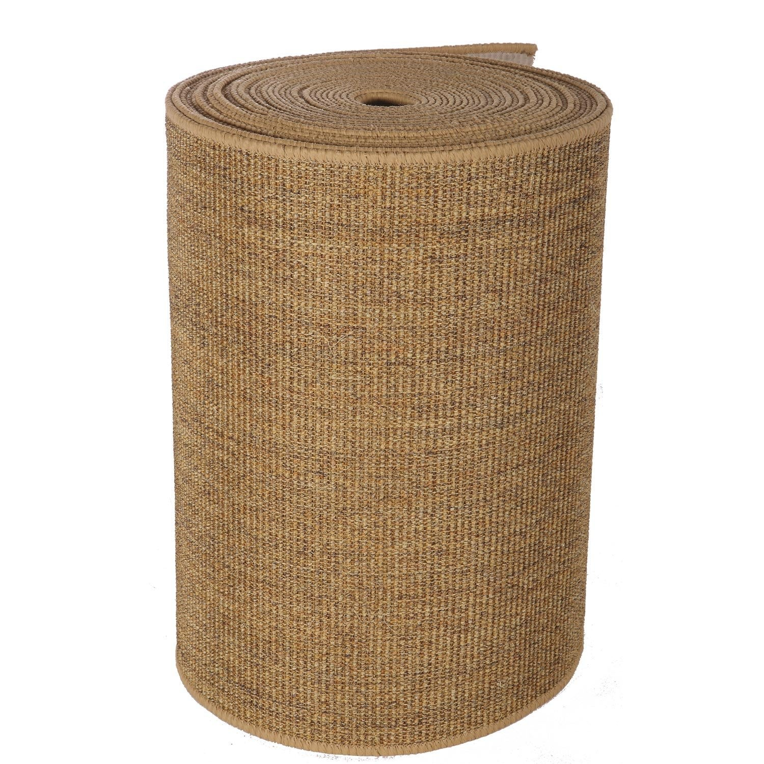 Tapis de passage sisal marron leroy merlin for Moquette coco