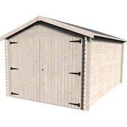 Garage bois Gamache 1 voiture, 12.29 m²