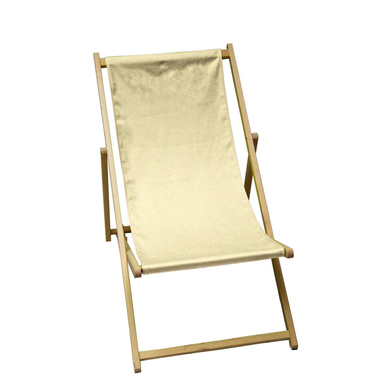 chilienne pour enfants en tissu blanc ivoire leroy merlin. Black Bedroom Furniture Sets. Home Design Ideas