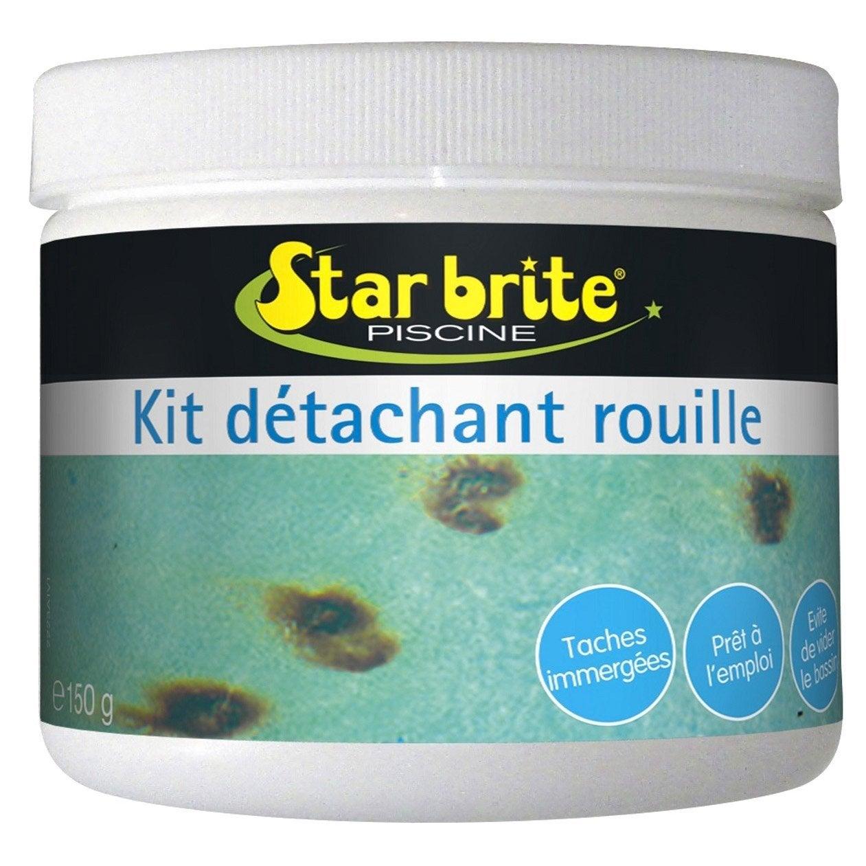 Kit D 39 Entretien Piscine Star Brite D Tachant Rouille En Poudre 0 5 Kg Leroy Merlin