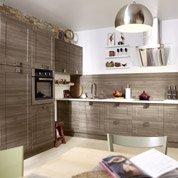 Meuble de cuisine décor chêne blanchi DELINIA Karrey