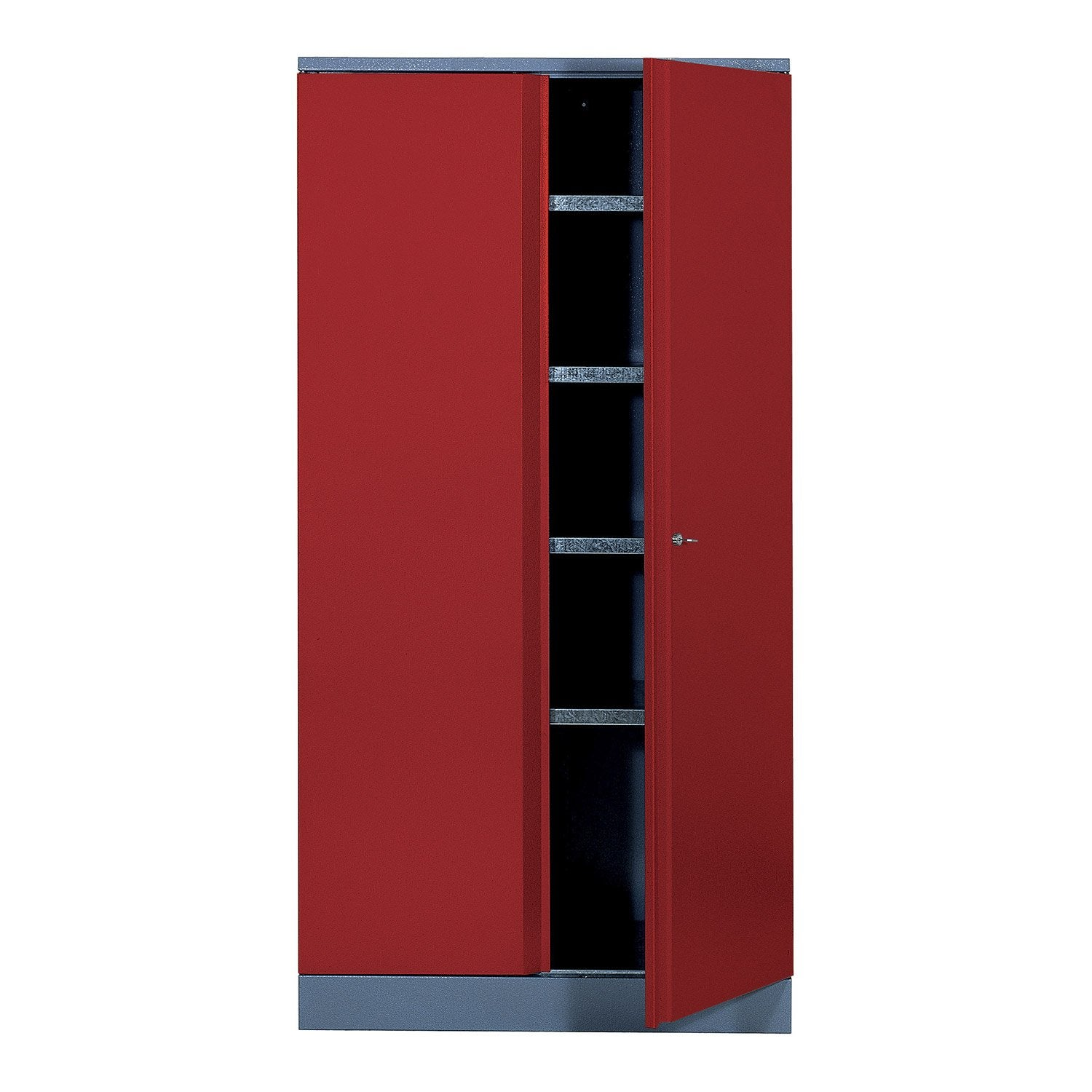 armoire de rangement en m tal rouge kupper 45 5 cm 1 porte. Black Bedroom Furniture Sets. Home Design Ideas