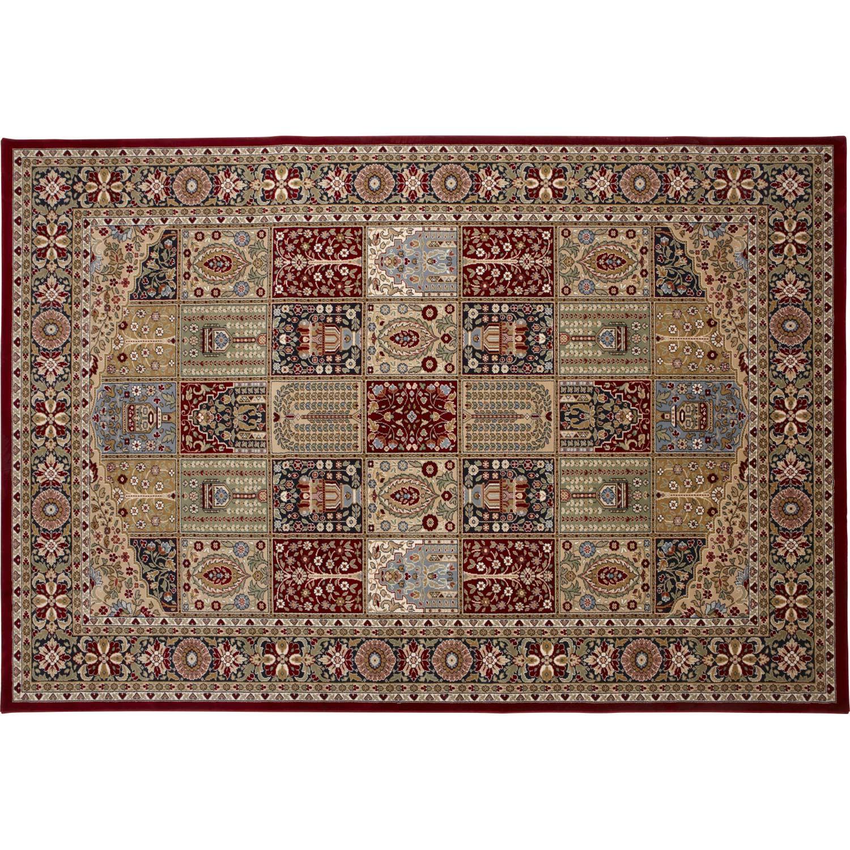 tapis kashmir rouge 230x170 cm leroy merlin. Black Bedroom Furniture Sets. Home Design Ideas