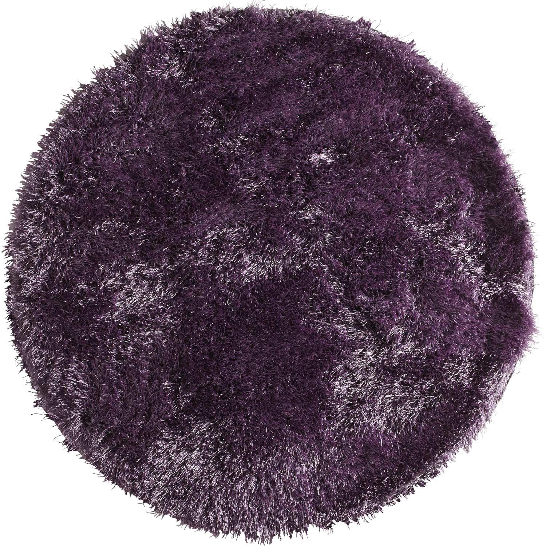 tapis shaggy enzo violet diam tre 120 cm leroy merlin. Black Bedroom Furniture Sets. Home Design Ideas