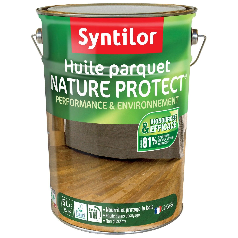 Huile parquet nature protect syntilor ch ne 5 l leroy merlin - Huile parquet leroy merlin ...