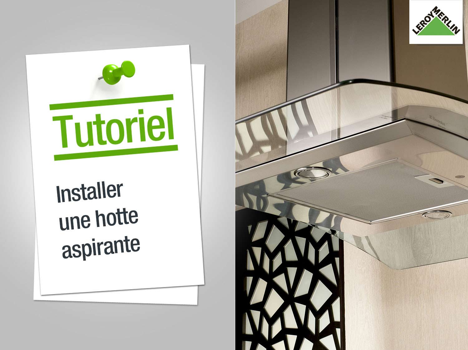 Comment Installer Une Hotte Murale Leroy Merlin Pictures to pin on