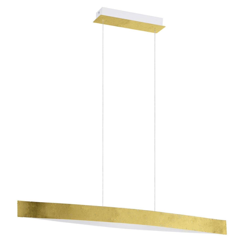 Suspension led int gr e design fornes m tal or 4 x 6 w eglo leroy merlin - Suspension led leroy merlin ...