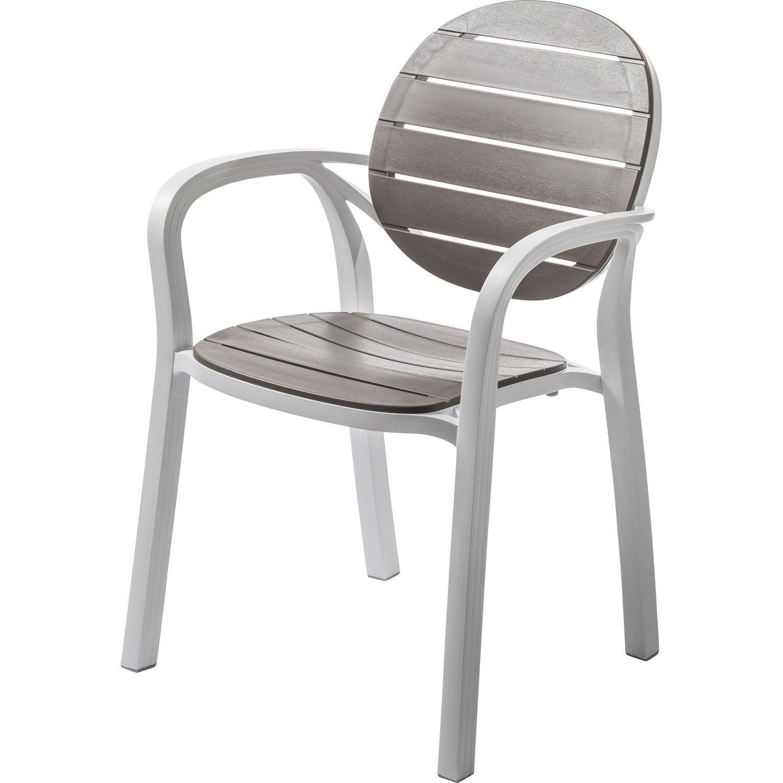 fauteuil de jardin en r sine inject e palma taupe leroy merlin. Black Bedroom Furniture Sets. Home Design Ideas