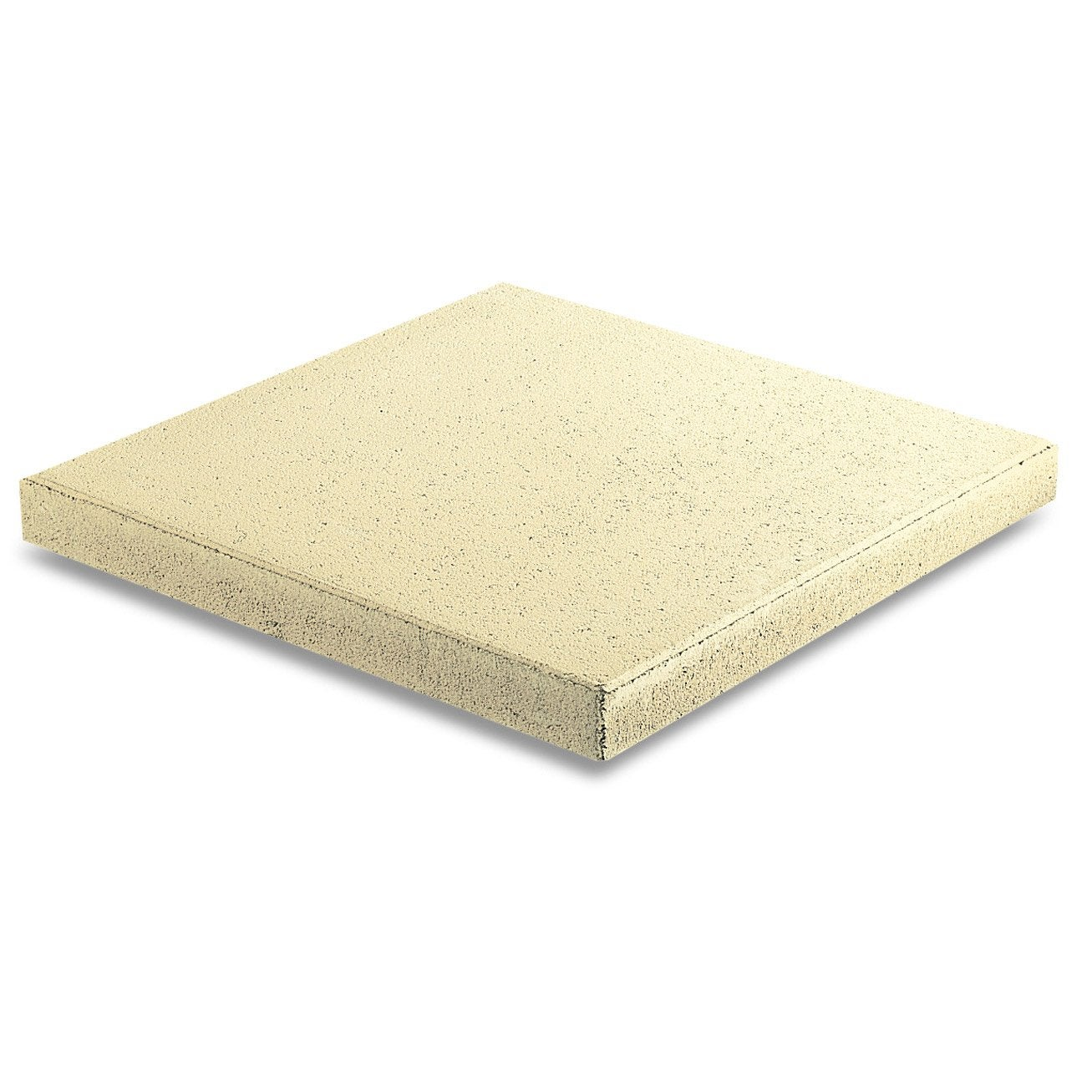 Dalle b ton proven ale paille x cm x mm for Maison en plaque de beton