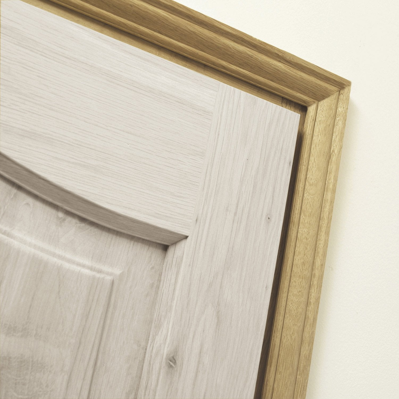 Kit de chambranle en pin pour porte de largeur 73 cm - Kit porte coulissante leroy merlin ...
