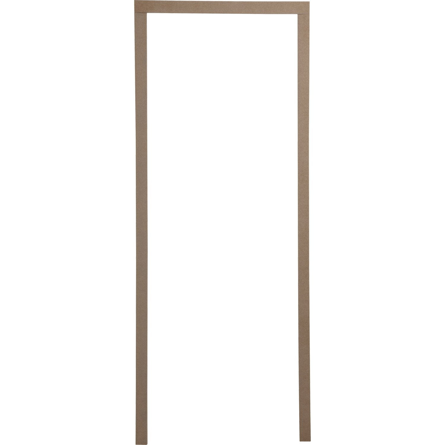 Habillage de porte en m dium pour huisserie joues de 7 5 for Huisserie de porte definition