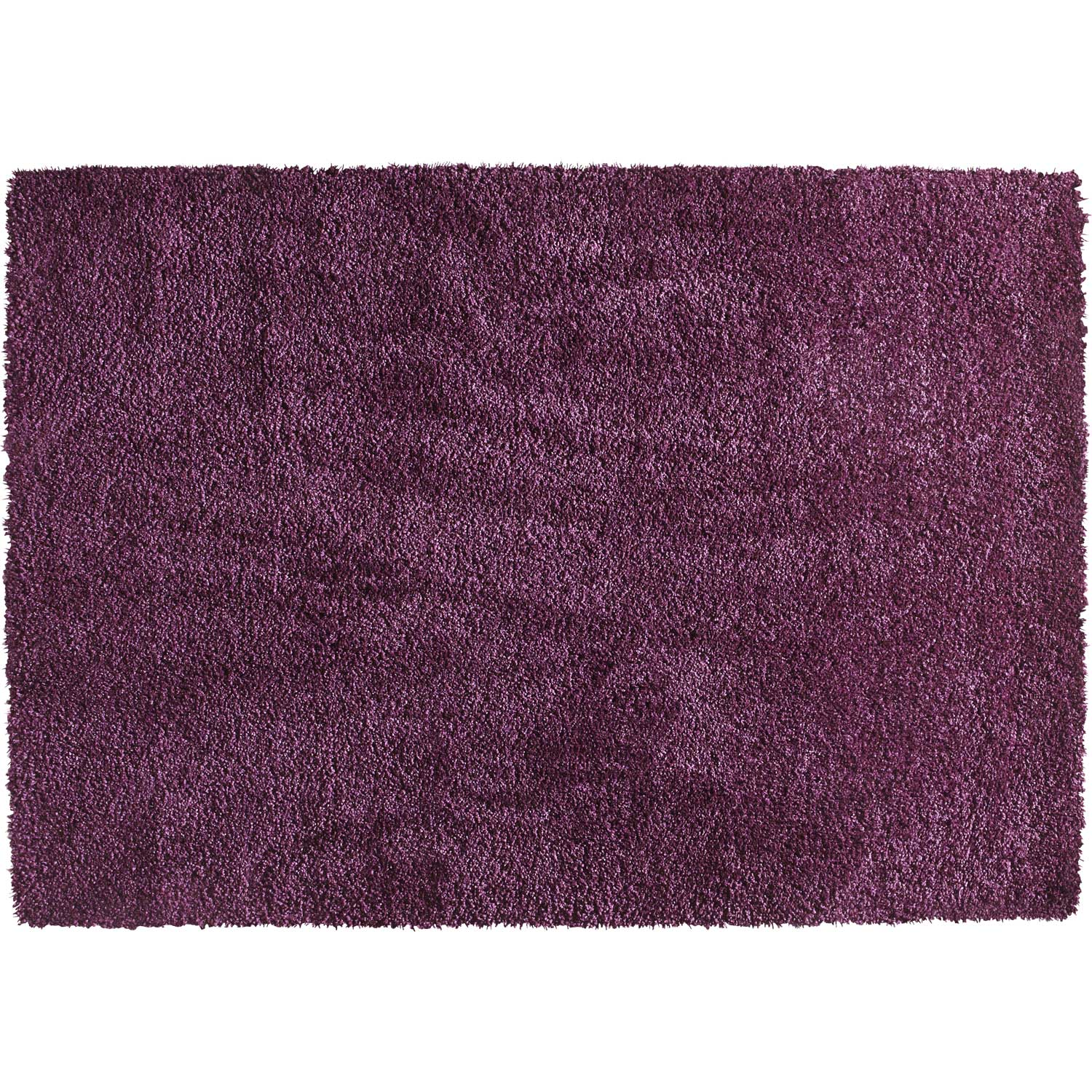 Tapis Shaggy Lizzy Violet 170x120 Cm Leroy Merlin