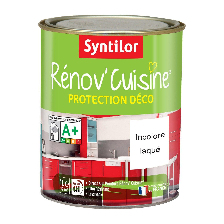 R sine de protection protecteur syntilor incolore 1 l leroy merlin for Peinture resine pour meuble vernis
