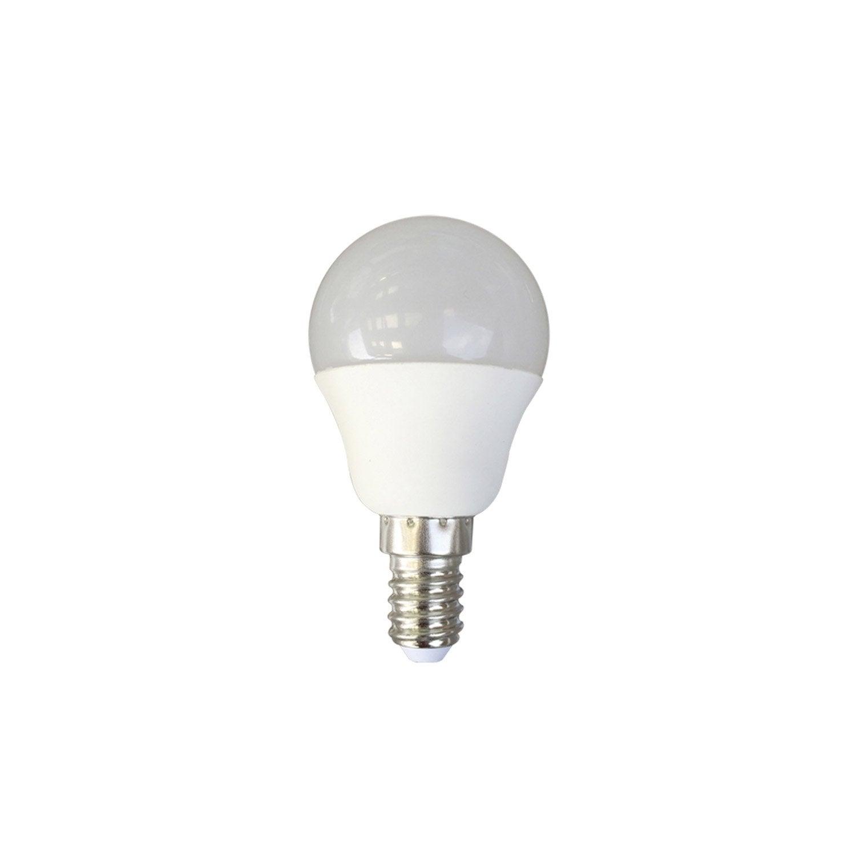 Ampoule Sph Rique Led 6w Lexman E14 Lumi Re Douce Env 4000k Leroy Merlin
