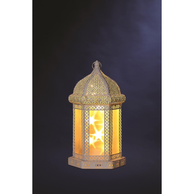 Objet lumineux lanterne leroy merlin for Lanterne leroy merlin