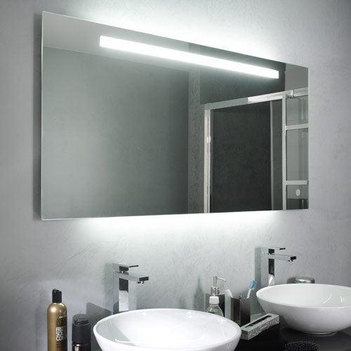 Meuble de salle de bains et vasque salle de bains for Pose miroir salle de bain