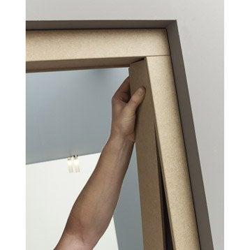 habillage de porte en m dium pour huisserie joues de 7 5 cm leroy merlin. Black Bedroom Furniture Sets. Home Design Ideas