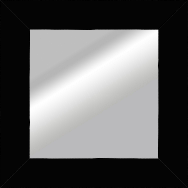 Miroir okaasan noir x cm leroy merlin for Miroir 40 cm largeur