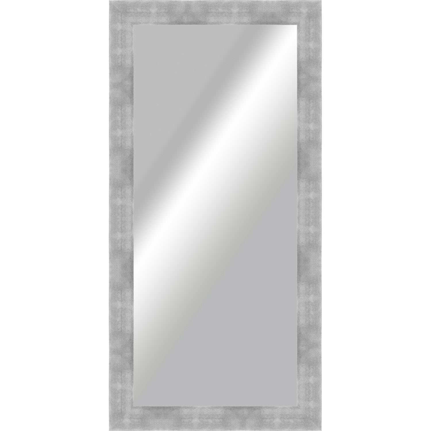 Miroir grand format leroy merlin for Grand miroir gris