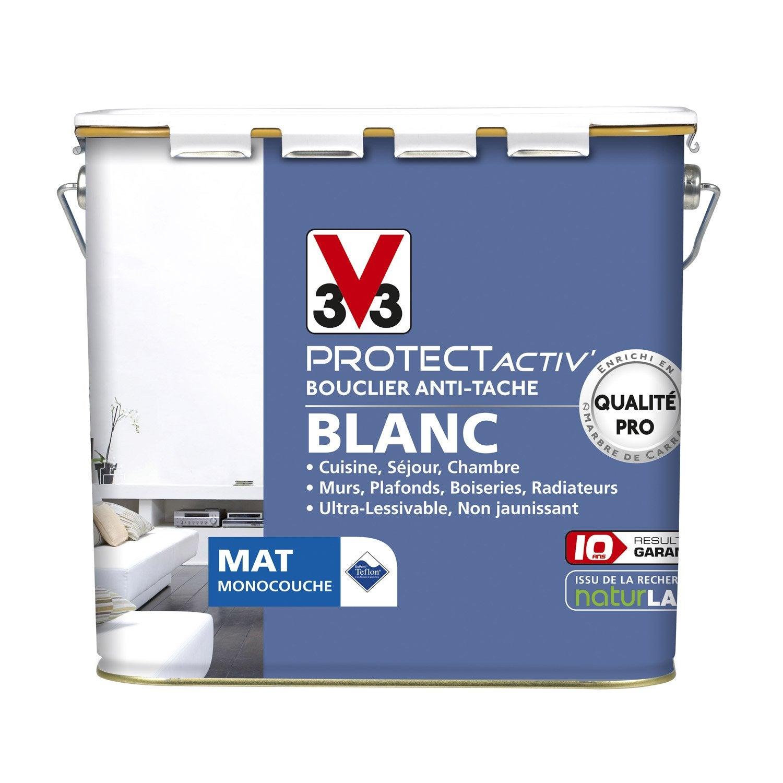 peinture murs et plafonds v33 protect activ mat 5l leroy merlin. Black Bedroom Furniture Sets. Home Design Ideas