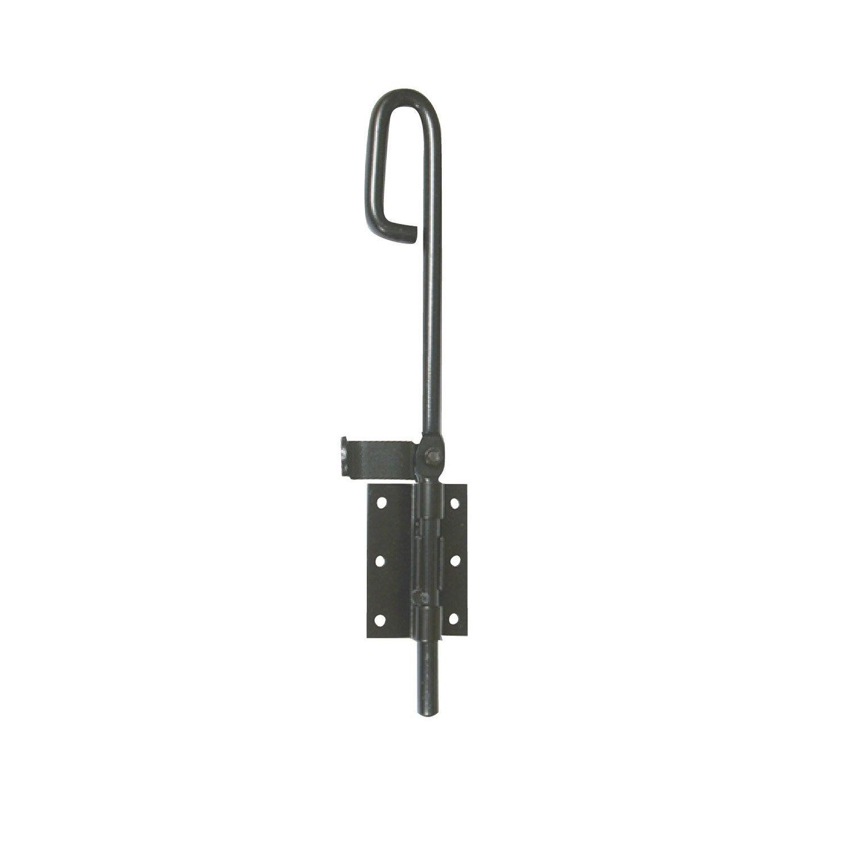 verrou baionnette visser en acier pr peint pour portails. Black Bedroom Furniture Sets. Home Design Ideas