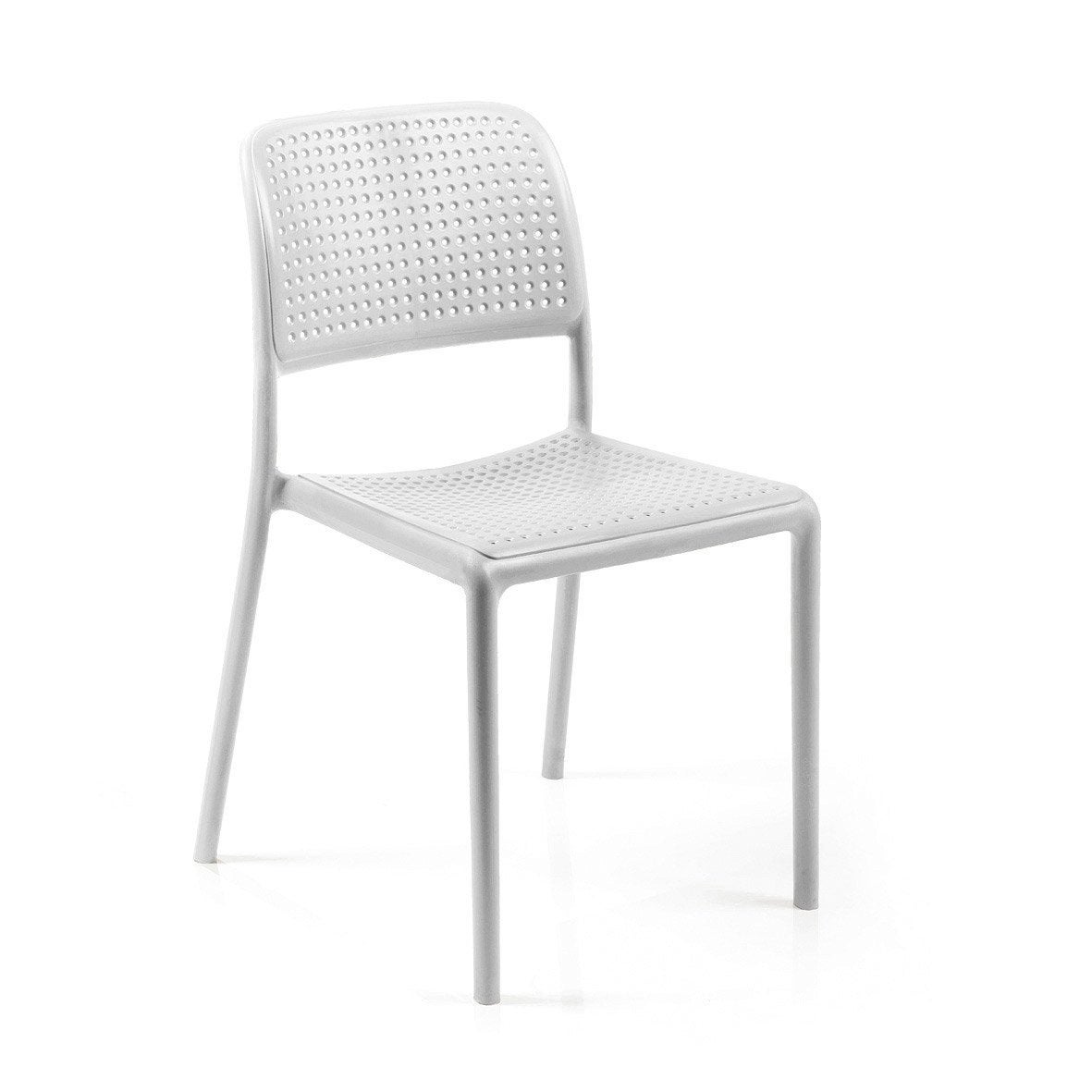 Chaise plastique transparent leroy merlin - Chaise de jardin en plastique blanc ...