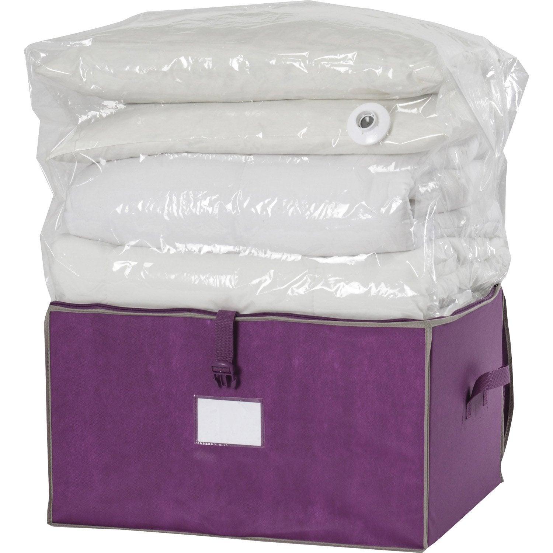 rangement sous vide housse sous vide sac de rangement gagnez jusquu duespace with rangement. Black Bedroom Furniture Sets. Home Design Ideas
