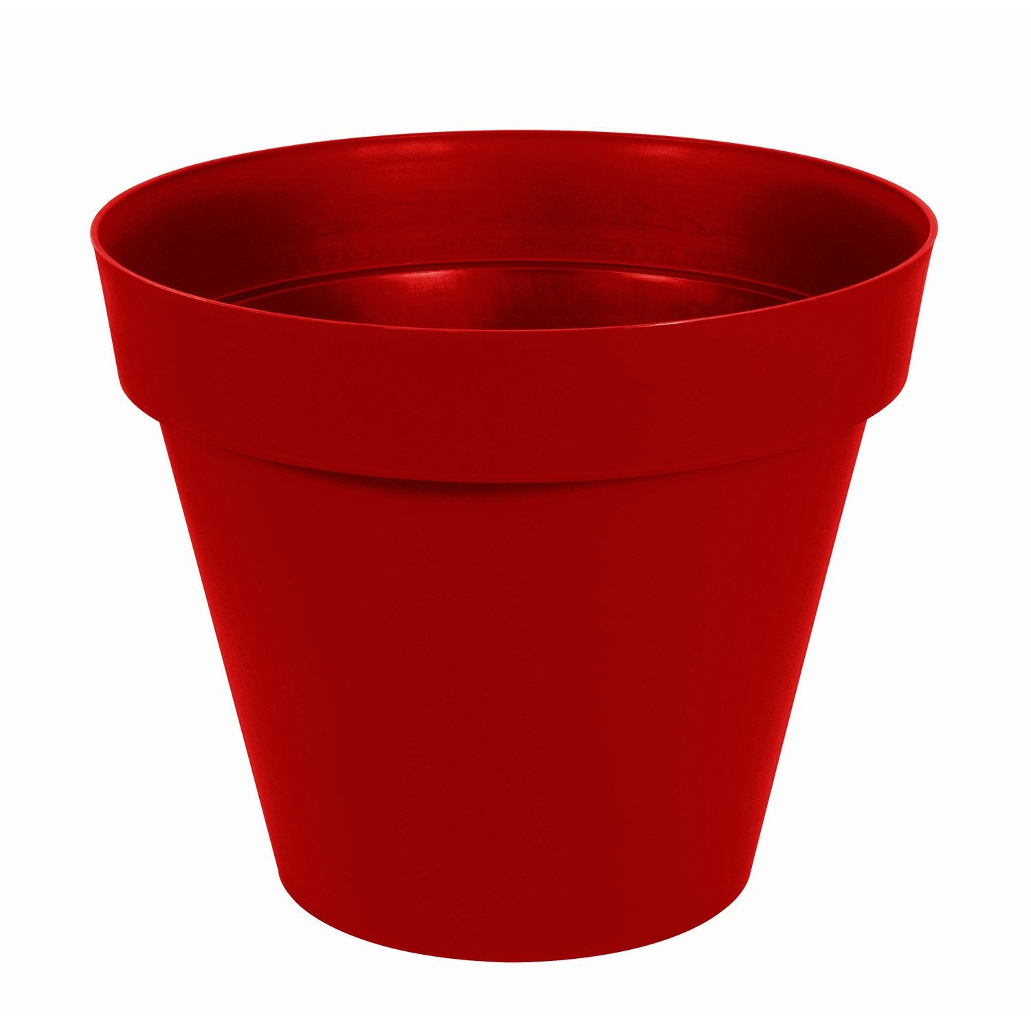 Pot polypropyl ne eda x cm rouge rubis for Plants de fleurs pas cher