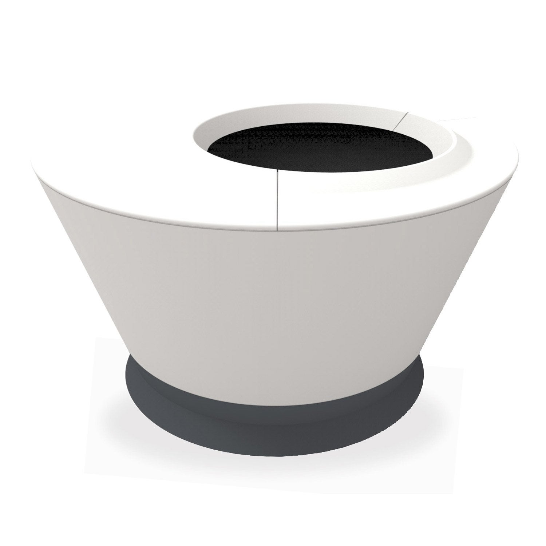 pot polypropyl ne pot 2 en 1 eda x cm. Black Bedroom Furniture Sets. Home Design Ideas