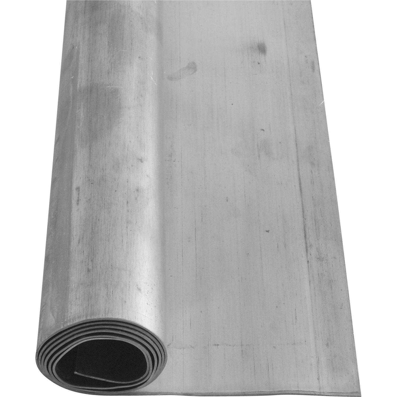 Rouleau de plomb scover plus gris mm x l 5 m leroy for Gazon en rouleau leroy merlin