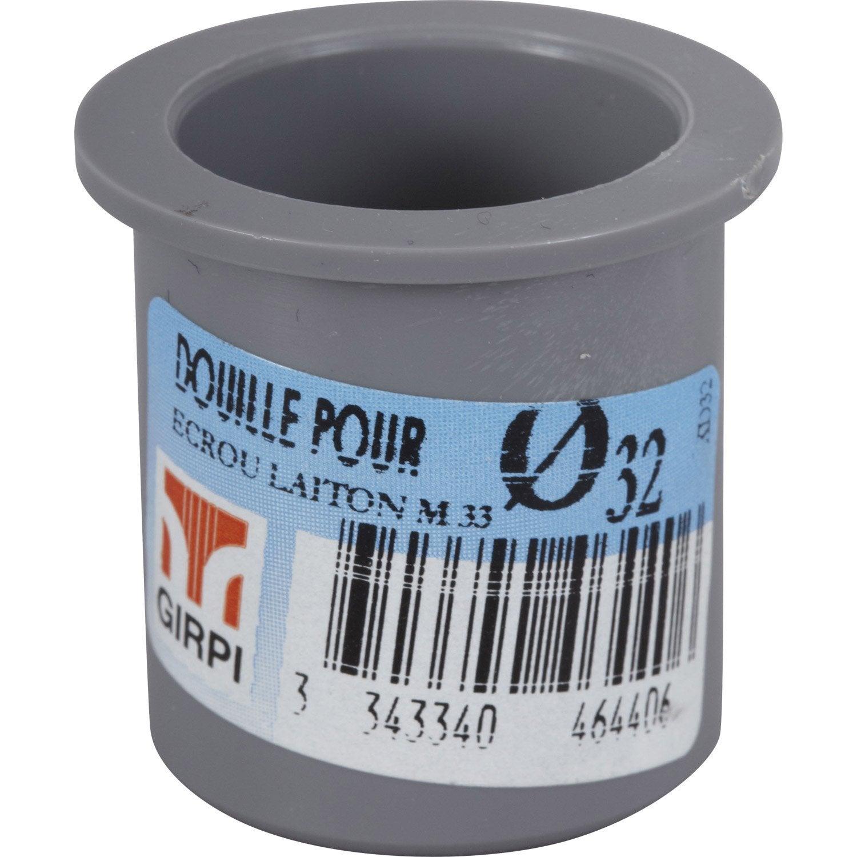 Douille Pour Crou M Le Coller En Pvc M Le M Le D32 Leroy Merlin