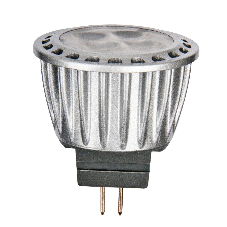 Ampoule R Flecteur Led 3 7w Lexman Gu4 Lumi Re Chaude Env 2700k Leroy Merlin