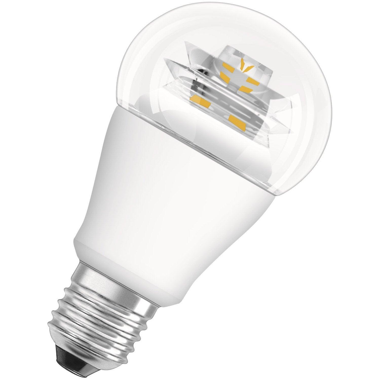 Ampoule Standard Led 10w Osram E27 Lumi Re Chaude Env 2700k Leroy Merlin